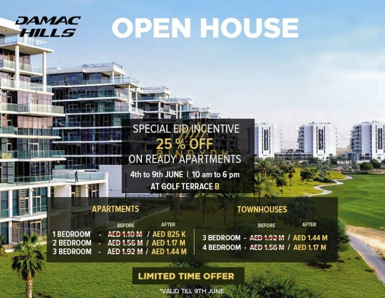 OPEN HOUSE 2BR|FULL GOLF COURSE VIEW|25% DISCOUNT|