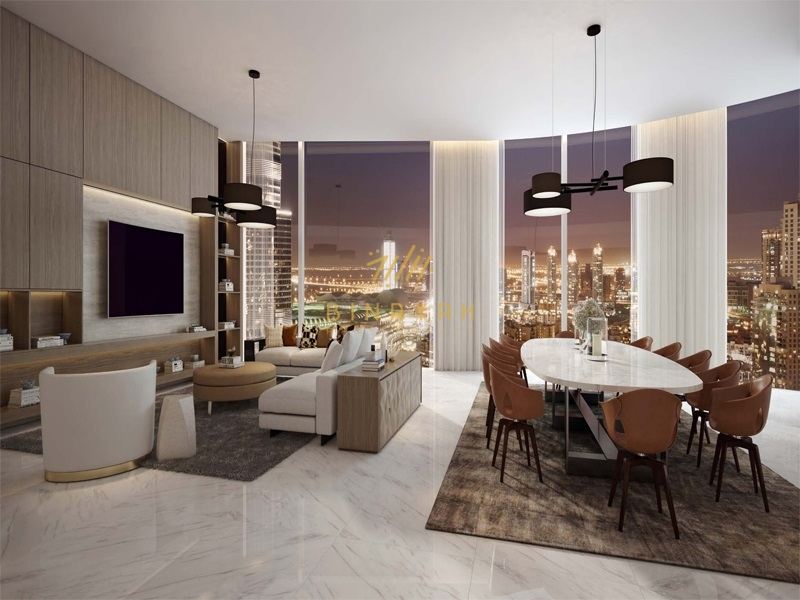 Burj Views | 5BR Penhouse | Primo Downtown