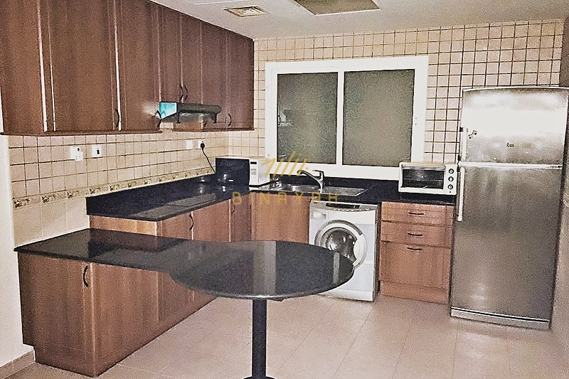 Higher Floor|Partial Sea View|1 BR|Close to Tram