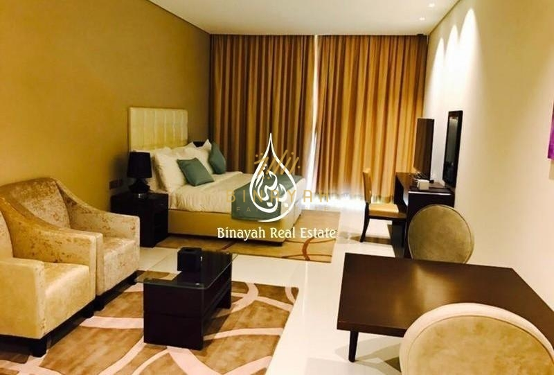 Studio Furnished APT 12 Cheques | Tenora |60K including Dewa