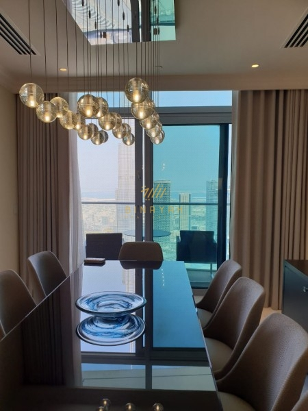 4 BR|High Floor|Fountain View |Furnished|Penthouse