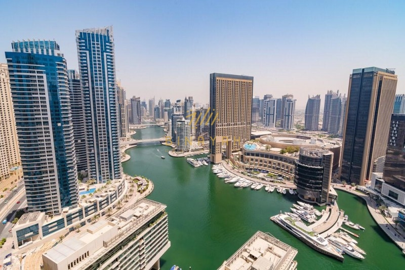 2 Bedrooms with Full Marina View High floor