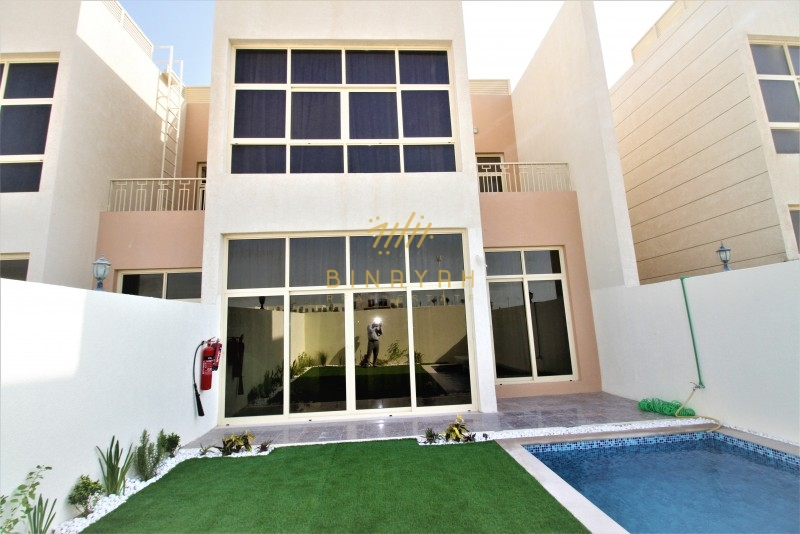 Near to School|4 bedroom + maid|with pool