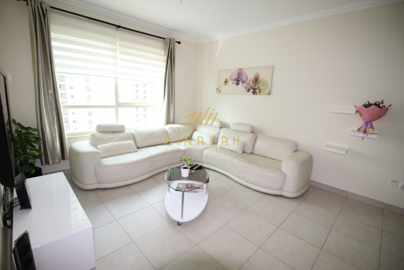 1BR | Vacant | Furnished | Mid Floor