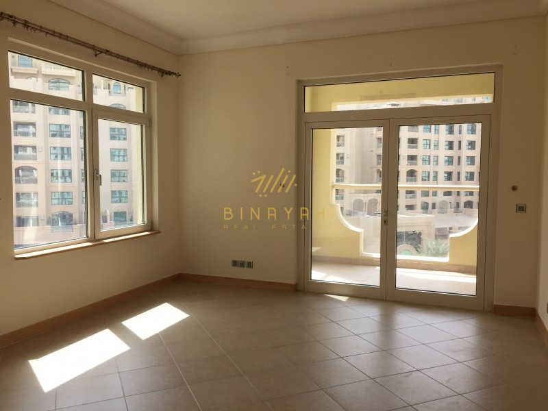 Large 2 BR Maids Room Park View |Beach Access