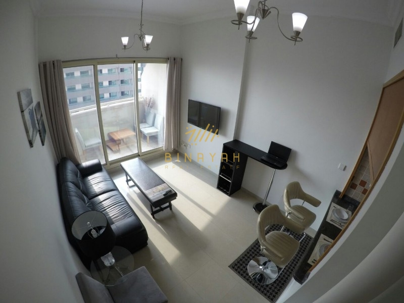 1BR Fully Furnished- Dreams|55k in 1 chq