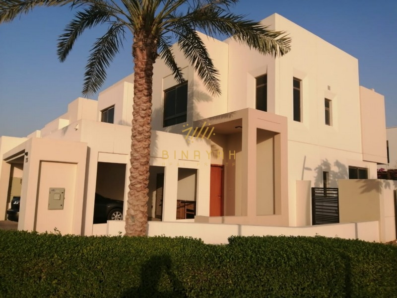 Luxurious Villa on Pool & Park l 4 BedRooms+ Maid