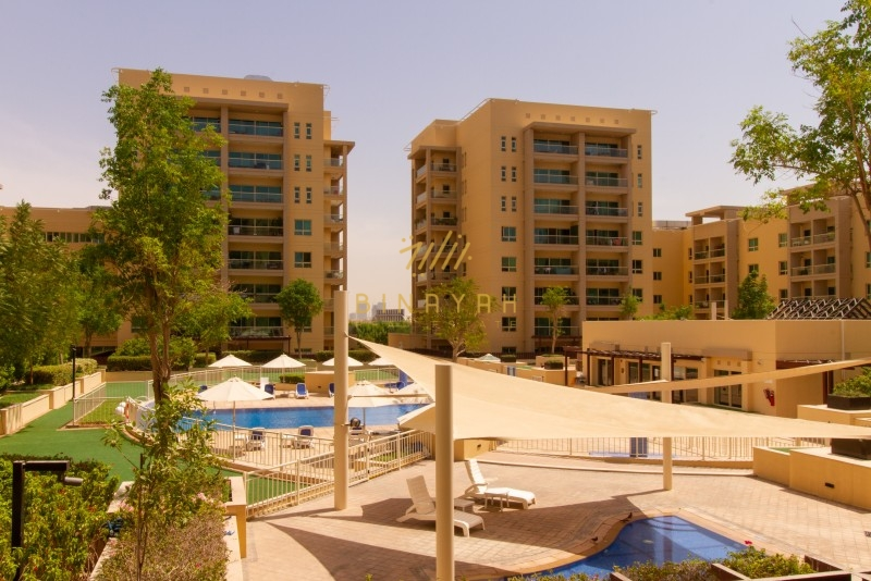 Huge Hall| Pool View |2 BR|Offer Price|Greens |