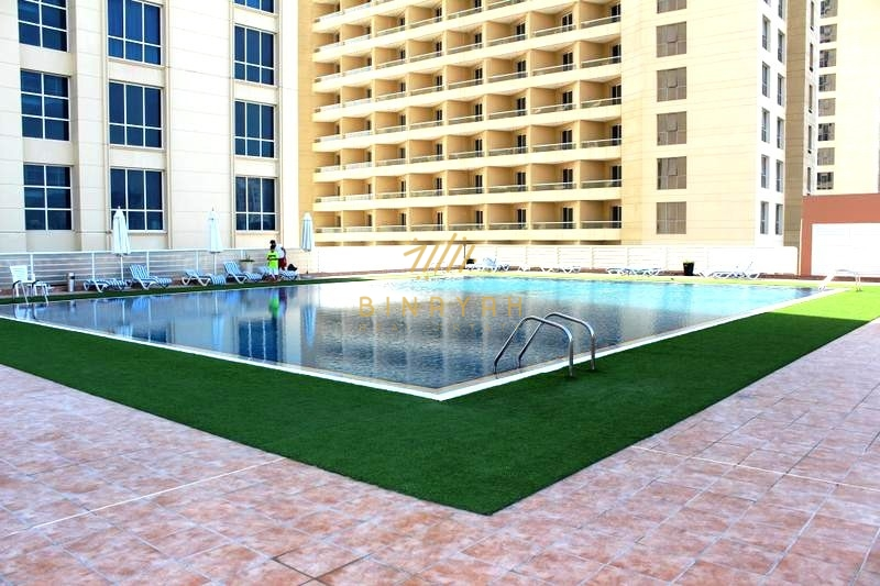 Pool View Studio | With Parking |Crescent B|20K