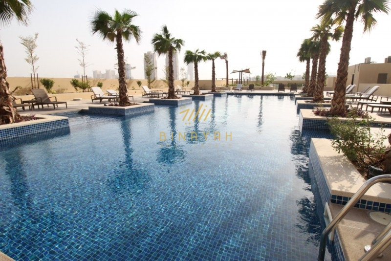 Chiller Free| Furnished 1 Bed| 42.5K|Pool View