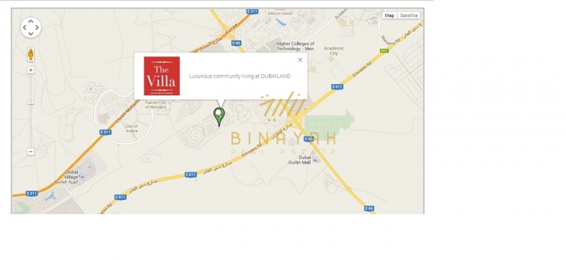 Residential Land for Sale in The Villa Dubailand