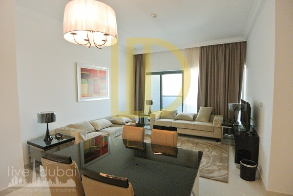 1.8 M , VACANT FULLY FURNISHED , 2 BED , DAMAC CAPITAL BAY , BUSINESS BAY