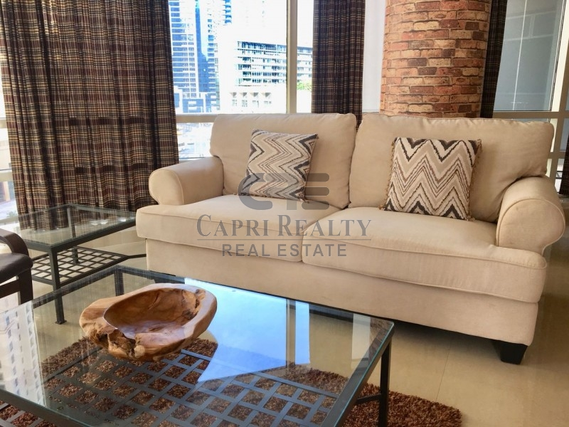 Upgraded|Fully Furnished|Partial Marina View|Al Sahab 1