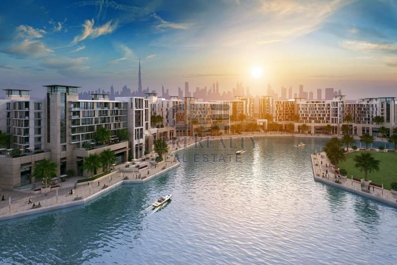 Dubai Wharf - Creek view, March 2017 handover