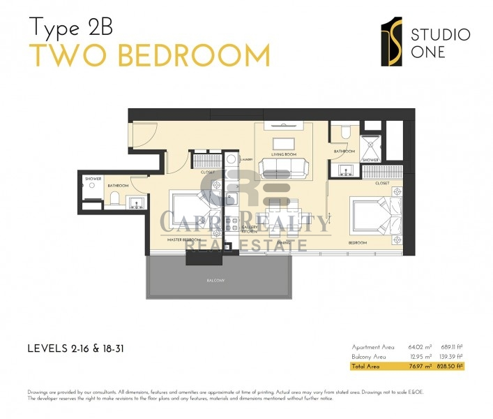 10% return-Pay 70% in 2018-Studio One Tower- (002)