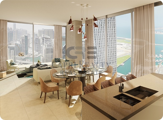 Penthouse-Marina Gate 1-2 years post handover plan
