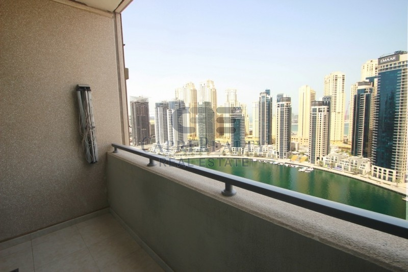RARE|1 BED+1.5BATH|FULL MARINA VIEW