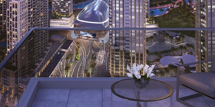 2BR -High Floor - Great Views (ref 001)