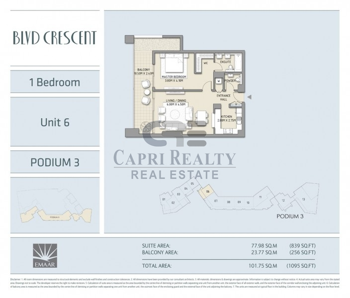 Direct from Developer|0% Commission|BLVD Crescent |Pay 20% on Handover in 2018