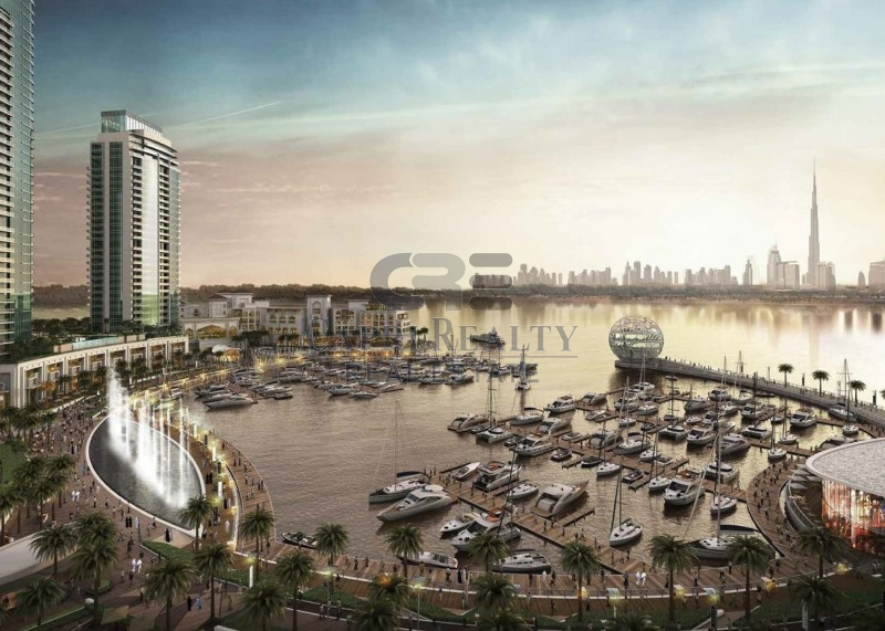 Direct from Developer 0% Commission Dubai Creek Residences South Pay 35% on Handover in 2018