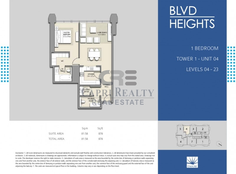 Direct from Developer|0% Commission|BLVD Heights|Pay 20% on Handover in 2018