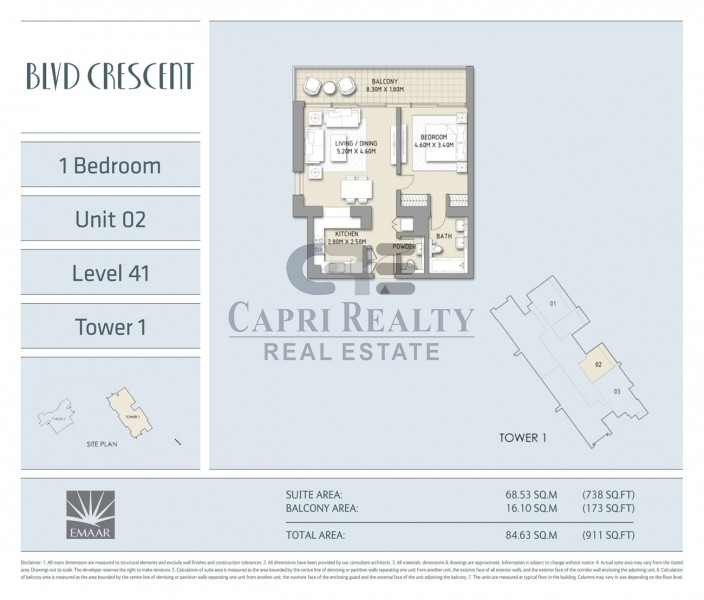 Direct from Developer|0% Commission|BLVD Crescent|Pay 20% on Handover in 2018