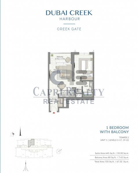 0% Commission|Pay 40% on Handover | CREEK GATE