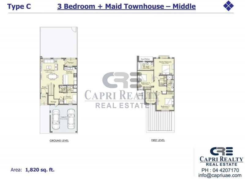Lowest priced 4 bed close to Arabian Ranches