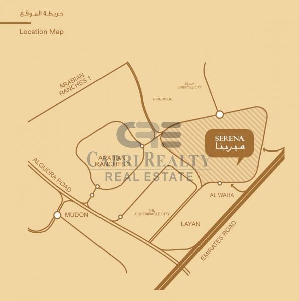 Close to Arabian Ranches|Handover 2019