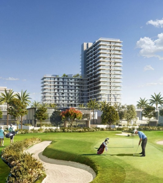 Only Golf course view apt on Al Khail RD