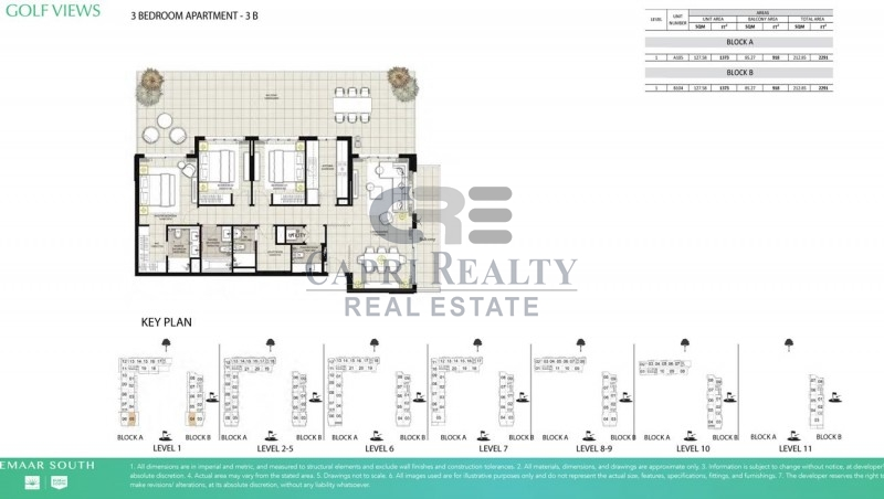 BY EMAAR | Golf course view | Pay 25% move in | 0% DLD fees| Close to Jebel Ali