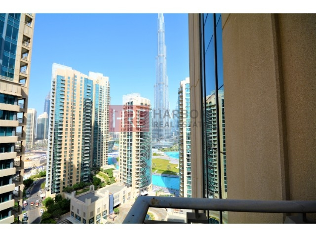 Burj Khalifa View - Spacious - Higher Floor - Excellent 1br