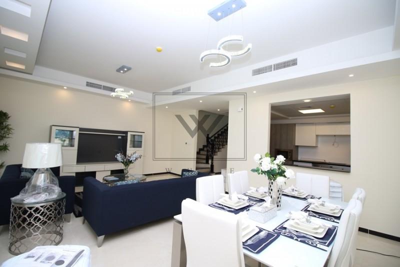 Large 3 Bedroom Townhouse in Al Burooj Residence I at JVT