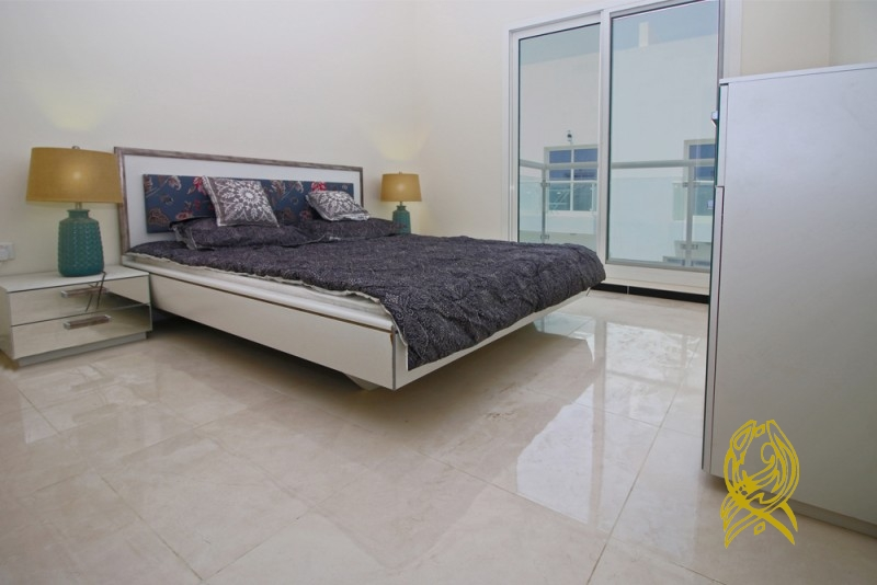 Large and Ready Townhouse in Al Burooj Residence I at JVT
