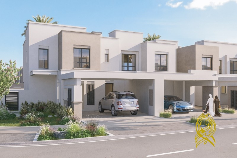 3 Bedrooms in Sama Townhouses at Town Square by NSHAMA