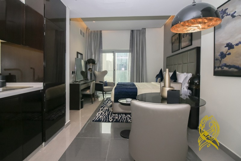 Luxury Furnished Studio in Majestine at Business Bay