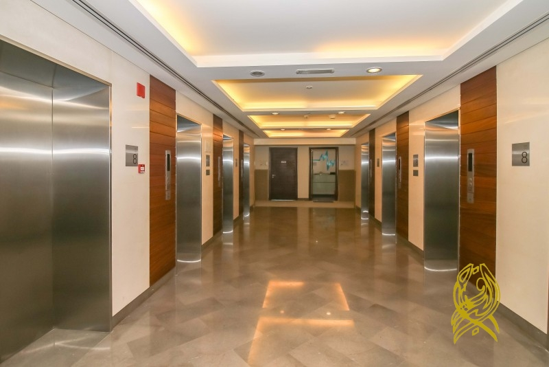 Fitted Office with Burj View in Prime Tower at Business Bay