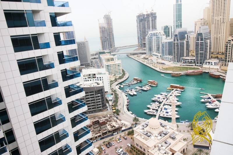 Pay 4 Cheques for 1 Bedroom in Escan Tower at Dubai Marina