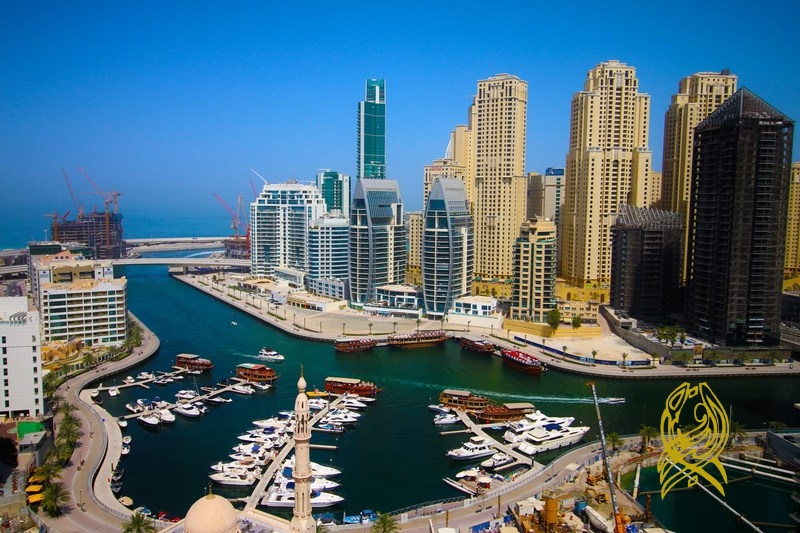 12 Cheques Payment for One Bedroom in Escan at Dubai Marina