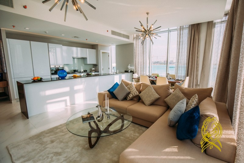 Beach Facing|Fully furnished|50% off on DLD