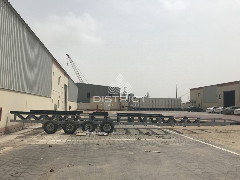 Huge Space  Warehouse in Mussafah  Area
