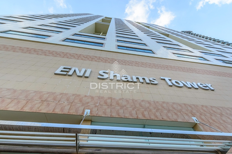 Fully Vacant 3BR w. M in ENI Shams Tower