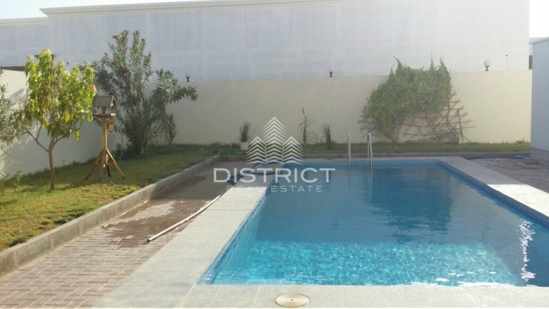 Brand New 7BR Villa w. Pool in Khalifa A