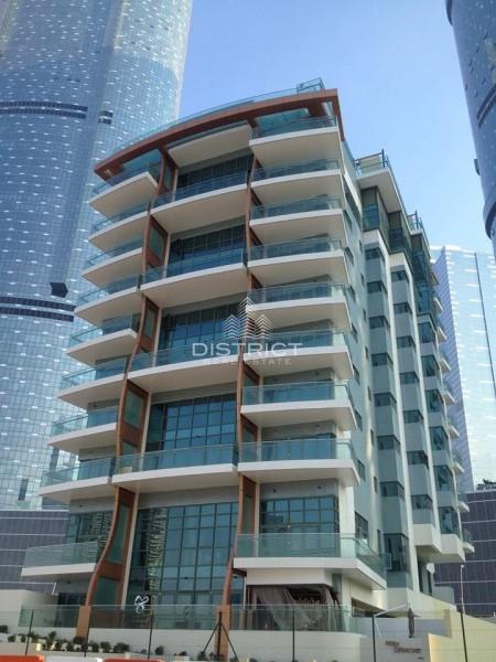 2 BR Balcony w. Sea View in Reem Diamond