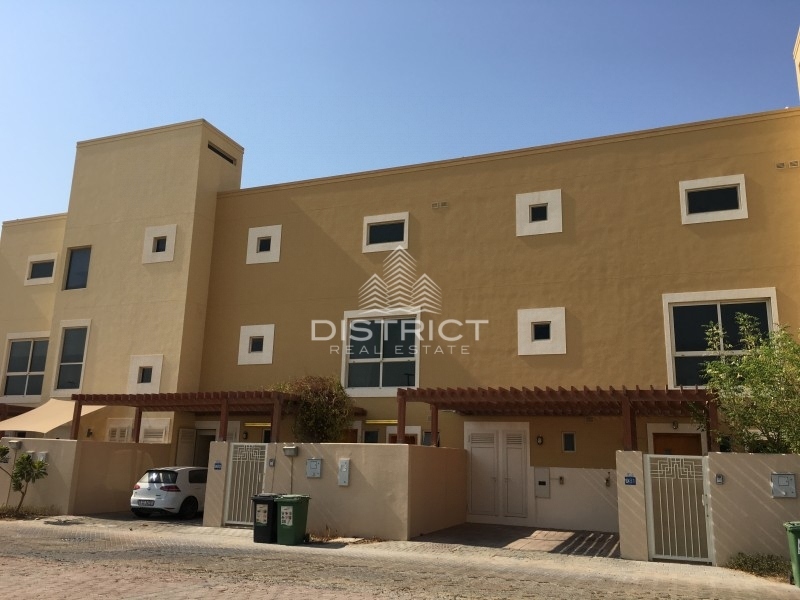 3BR Townhouse with Maids Room in Al Raha Gardens