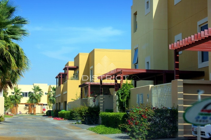 Desirable 4BR Villa with Pool in Al Raha Gardens