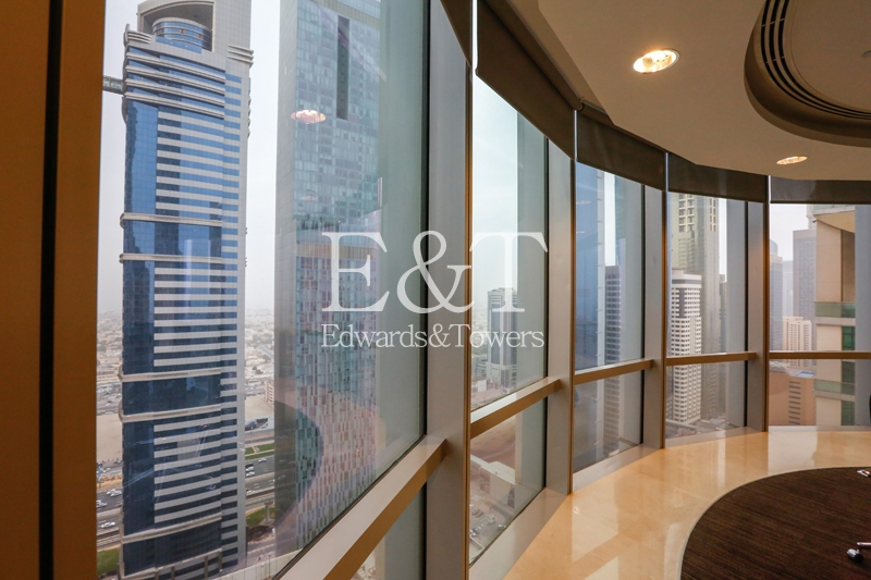 Full Floor Fitted Office in EFT North Tower