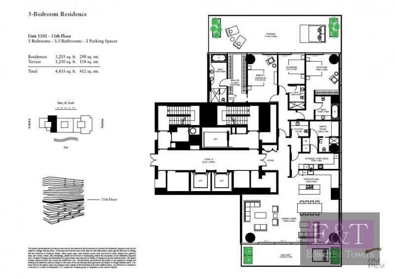 4 BR Duplex Sea view Apt|Super Potato| PJ
