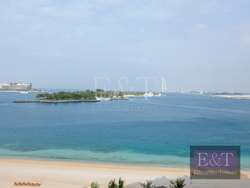 2BR Type-D|Sea and Burj Al Arab views, PJ