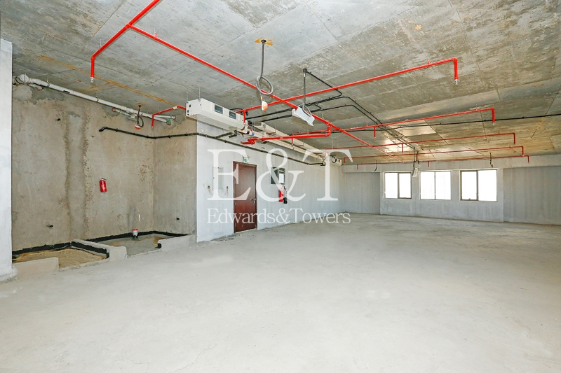 Exclusive: Biggest Office Size,Shell and core Top floor